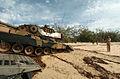 Australian Leopard AS1 tank landing, 2005.jpg