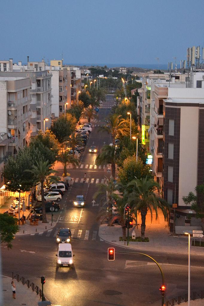 Archivo:Avenida Dama de Elche. El Altet.JPG - Wikipedia, la ...