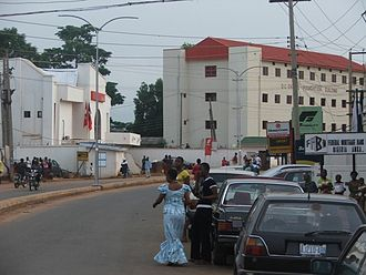 Awka - UBA and Fidelity Banks on Zik Avenue, Awka