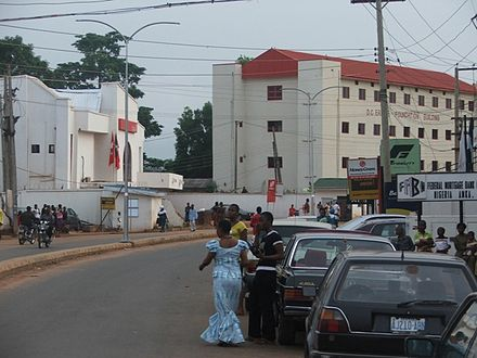 UBA and Fidelity Banks on Zik Avenue, Awka Awka zik ave.jpg
