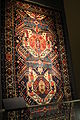 Azerbaijani carpet of middle ages in the Museum of Azerbaijan Carpet and Applied Art.JPG