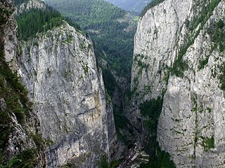 Bicaz Gorge geographical object