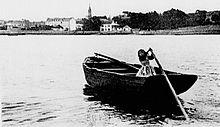 Benodet un petit port du Finistère dans Bretagne 220px-B%C3%A9nodet_au_d%C3%A9but_du_XX%C3%A8me_si%C3%A8cle