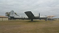 B-29 Superfortress at Lackland Air Force Base side.jpg