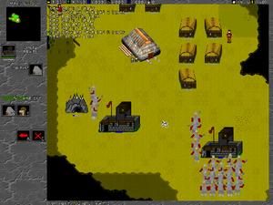 Stratagus - Battle for Mandicor screenshot (2005).