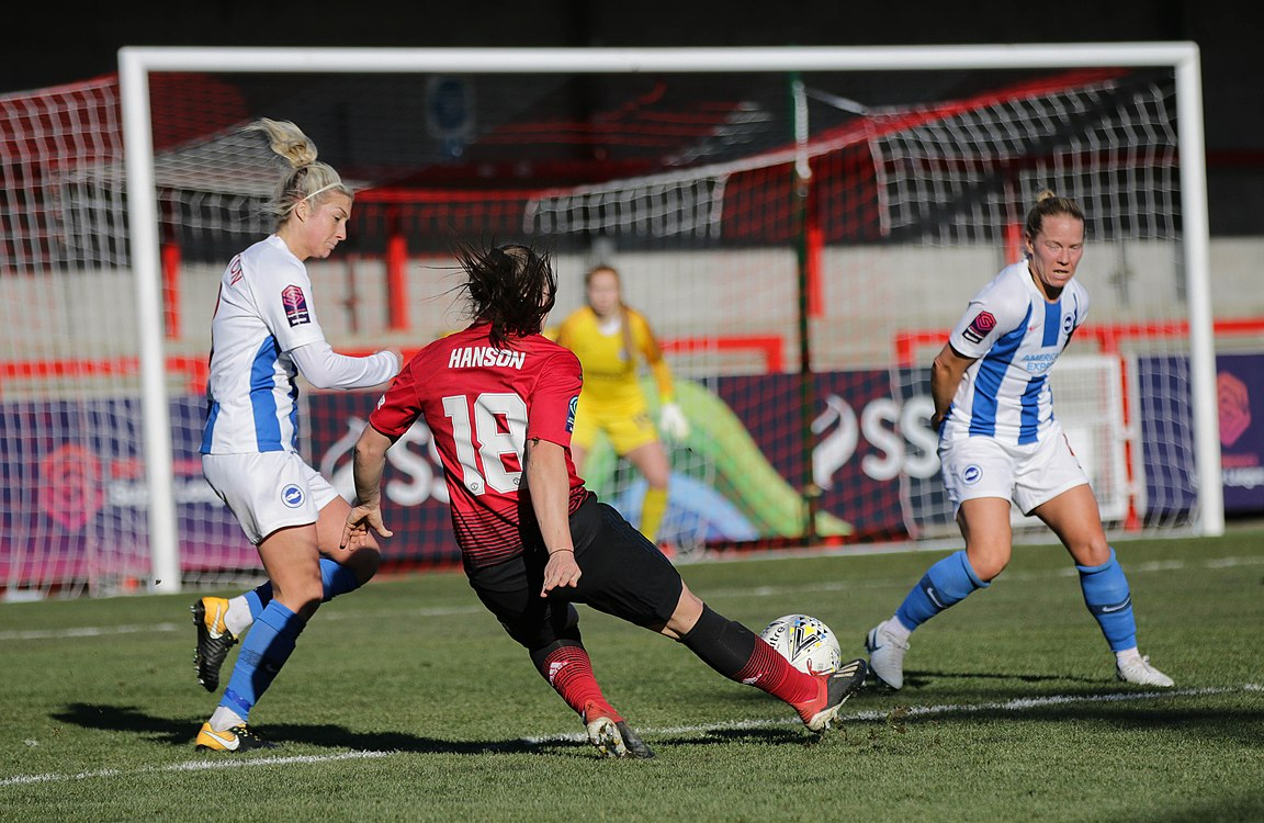 BHA Women 0 Man Utd Women 2 WFAC 4th rd 03 02 2019-1024 (32044839587).jpg