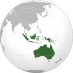 Countries in Oceania with Burger King locations