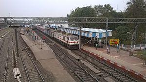 Balasore - Balasore Railway station and Rajdhani express