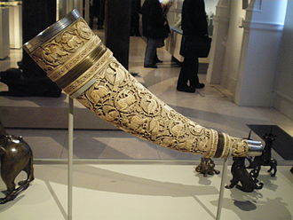 Horn (instrument) - Olifant, possibly southern Italian, 11th century