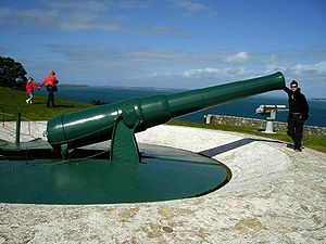 BL 8 inch Mk VII disappearing gun Devonport NZ November 2008.jpg