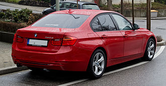 BMW 3 Series (F30) - Sports line (pre-facelift)