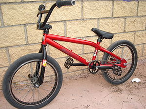 BMX Bike, with frame for vert, the other parts...