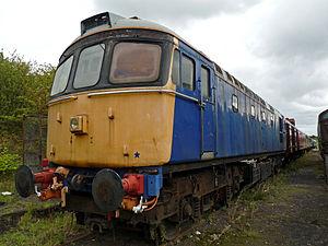 Crompton Parkinson - British Rail Class 33