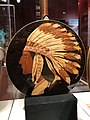Back of of Ludwig Big Chief banjo (1930) at American Banjo Museum.jpg