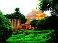 Backward view of Stupa of sanchi.JPG