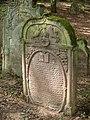 Bad Rappenau - Heinsheim - Jüdischer Friedhof - Grabstein mit Löwen Judas 1.jpg