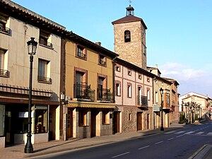 Badarán - Badarán's town centre