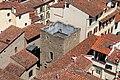 Badia fiorentina, campanile, veduta da, casa di dante 01.jpg