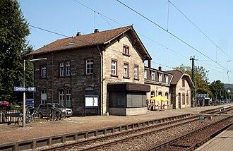 Kraichgau Railway - Grötzingen station
