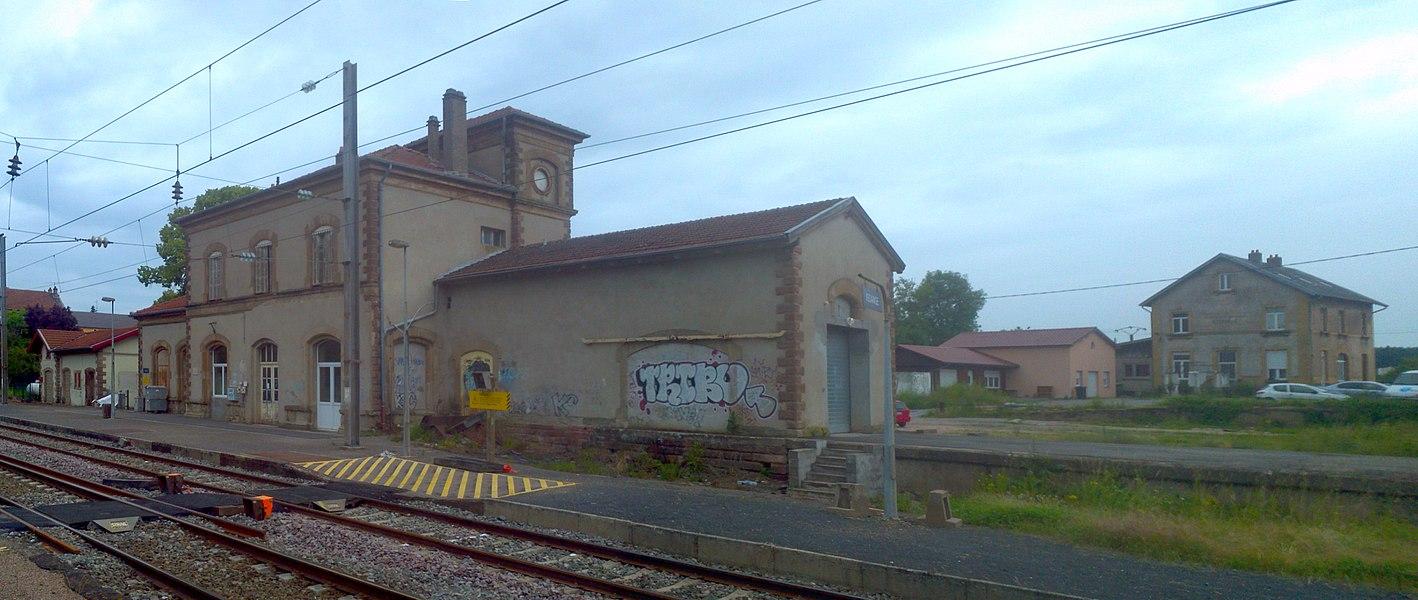 Bahnhof von Kédange-sur-Canner, Lothringen