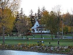 Baie-D'Urfé, sulle rive del lago Saint Louis.