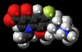 Balofloxacin zwitterion spacefill.png