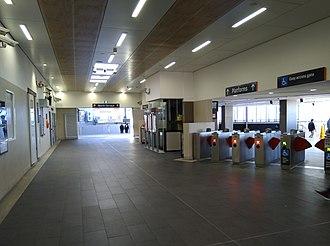Bankstown railway station - Concourse