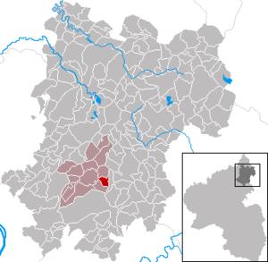 Bannberscheid - Image: Bannberscheid im Westerwaldkreis