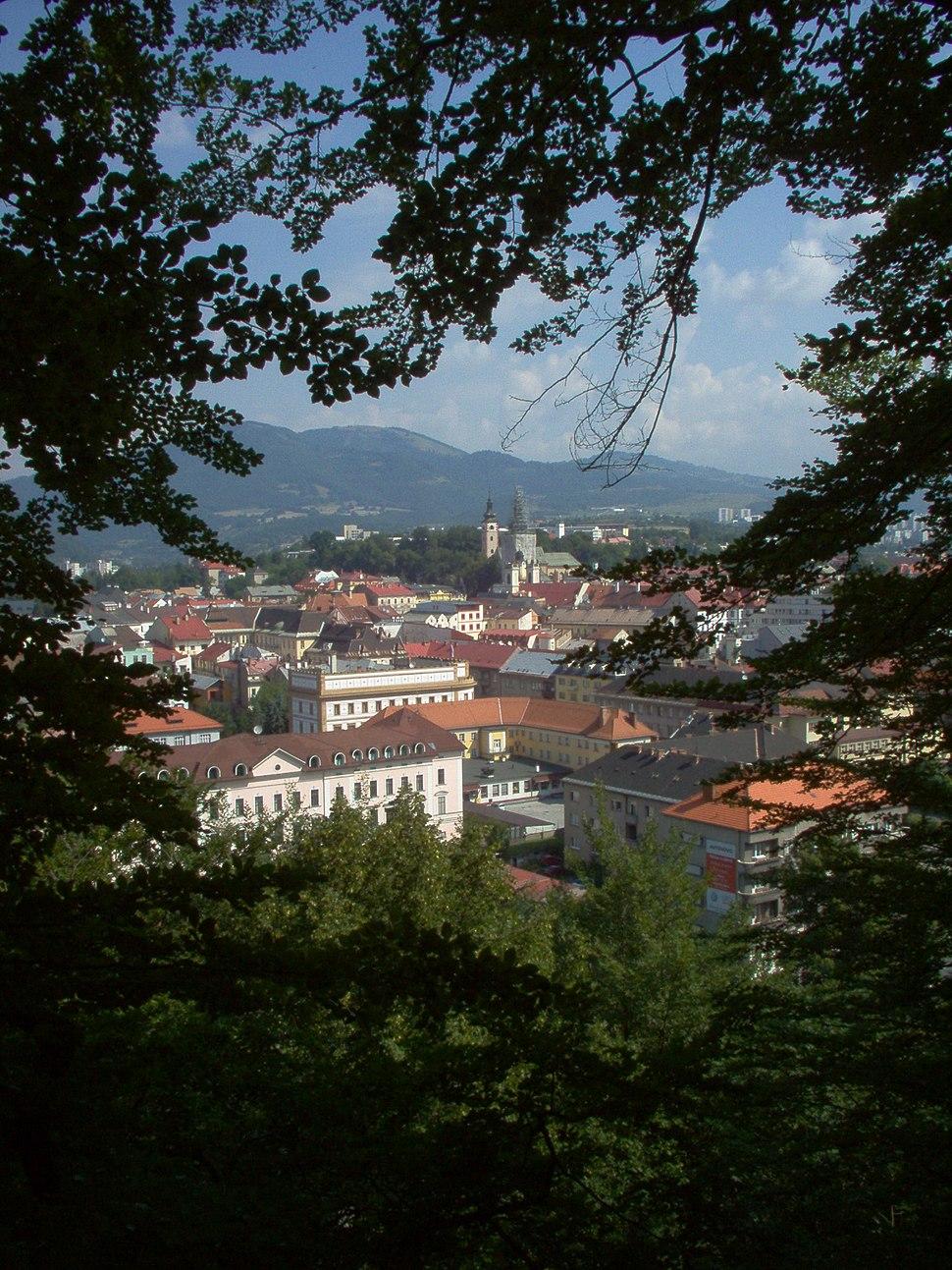 Banska Bystrica from Urpin