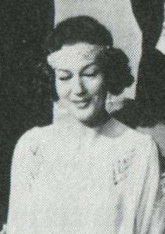 Barbro Hiort af Ornäs - Hiort af Ornäs in 1964
