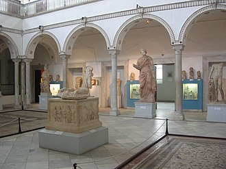 Bardo National Museum attack - Image: Bardo Museum Carthage room