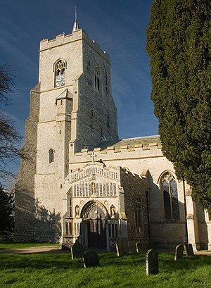 Grade I listed buildings in St Edmundsbury - Image: Bardwell Church of St Peter & St Paul
