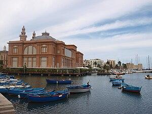 Fischmarkt im Zentrum von Bari