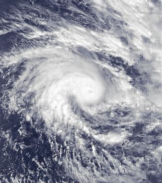 1988–89 Australian region cyclone season - Image: Barisaona Nov 11 1988 0808Z
