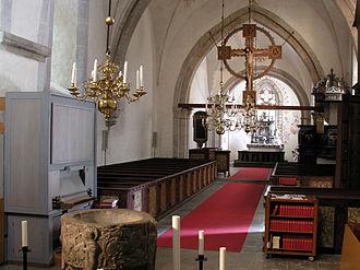 Barlingbo Church - Barlingbo Church nave