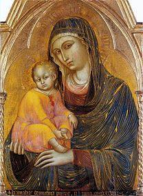 BARNABA DA MODENA Virgin and Child c.1367