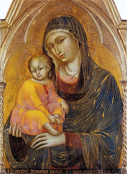 BARNABA DA MODENA Virgin and Child c.1367