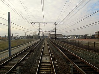Barnum station railway station in Connecticut, United States