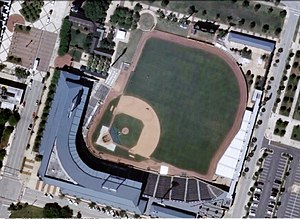 Baseball Grounds of Jacksonville - Seen from space.