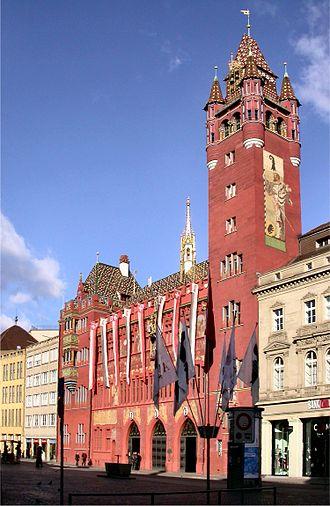 Basel Town Hall - The Basel Town Hall