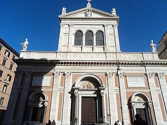 Sacro Cuore di Gesù a Castro Pretorio - Image: Basilica del Sacro Cuore di Gesù 02