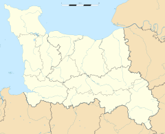 Cauvicourt is located in Baixa Normandia