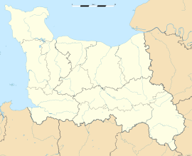 Burcy is located in Lower Normandy