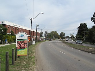 Swan Districts Football Club - Swan Districts Football Club from Guildford Road