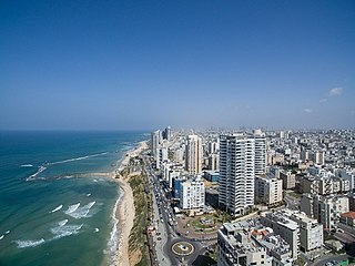 Bat Yam City in Israel