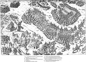 Battle of Dreux - Image: Bataille Dreux 1562