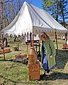 Battle of Guiliford Courthouse 1781 reenactment 05.jpg