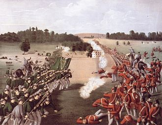 Fenian raids - Image: Battle of Ridgeway