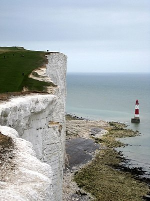 East Sussex - Beachy Head and lighthouse, Eastbourne, East Sussex