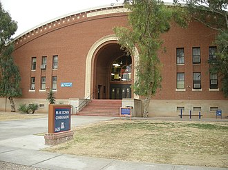 Bear Down - Bear Down Gym, listed on the National Register of Historic Places